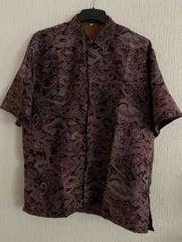 Batik overhemd (LLL)