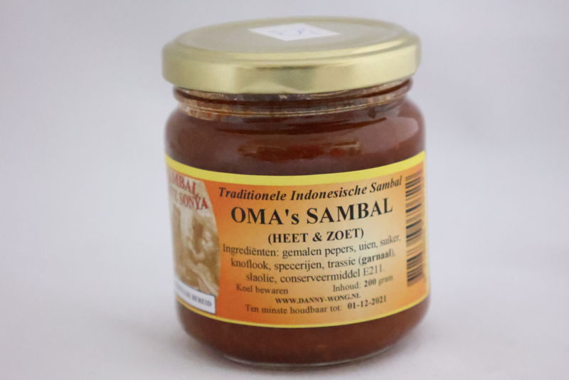 Oma's Sambal (Heet & Zoet)
