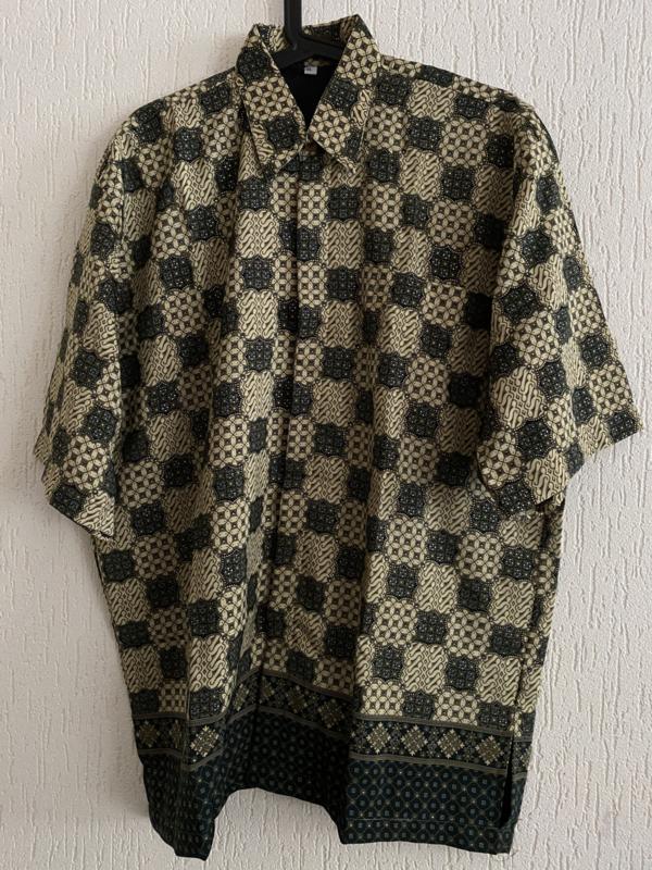 Batik overhemd (4XL)