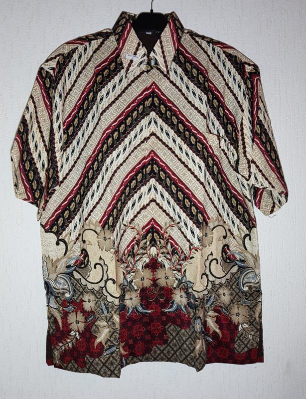 Batik overhemd (XL)