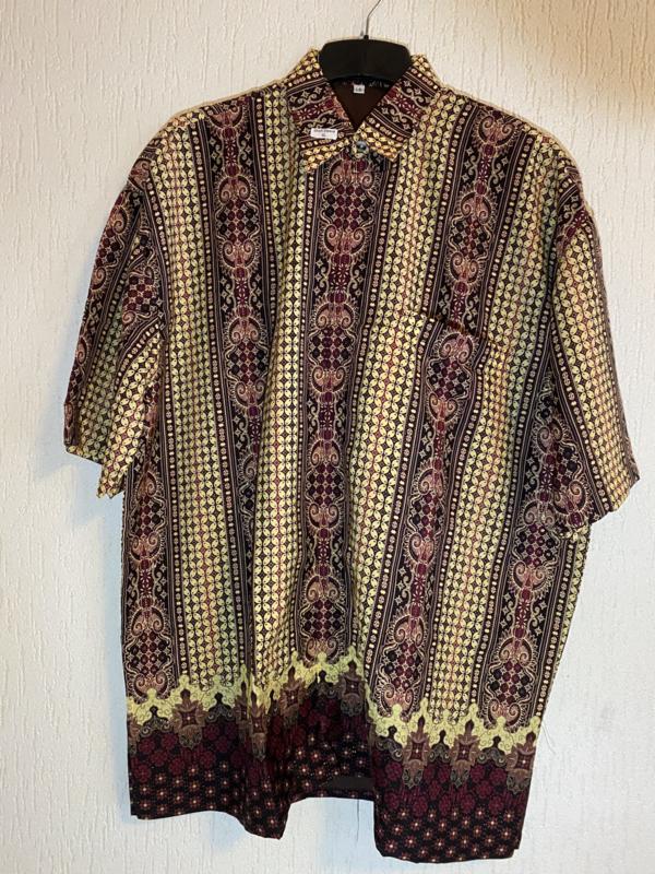 Batik overhemd (6xL)