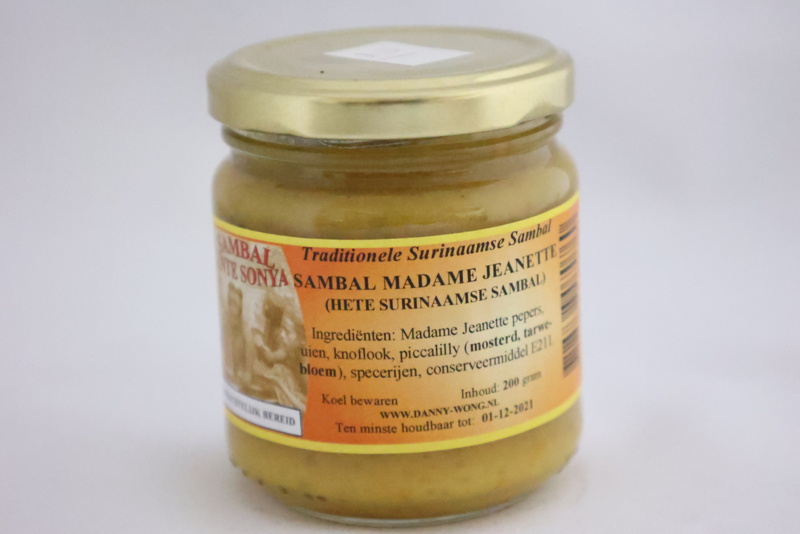 Sambal Madame Jeanette (Hete Surinaamse Sambal)