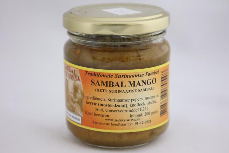Sambal Mango (Hete Surinaamse Sambal)