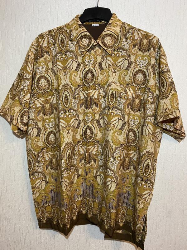 Batik overhemd (5xL)