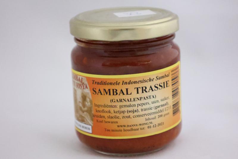 Sambal Trassie  (Garnalenpasta)