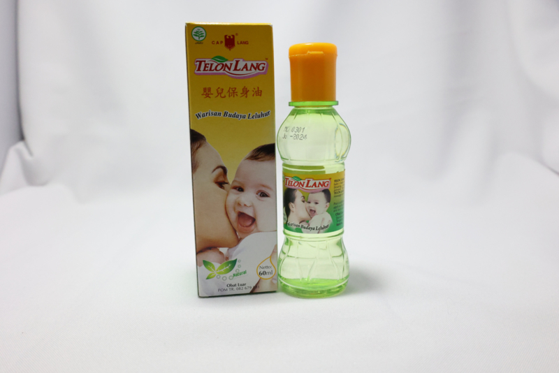 Minyak Telon Lang ( Cap Lang 60ml)