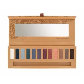 Natuurlijk oogschaduw palet eye essential 2.(12 kleuren) incl. penseel