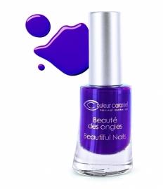 Couleur Caramel nagellak mat paars, Prune électrique (60)