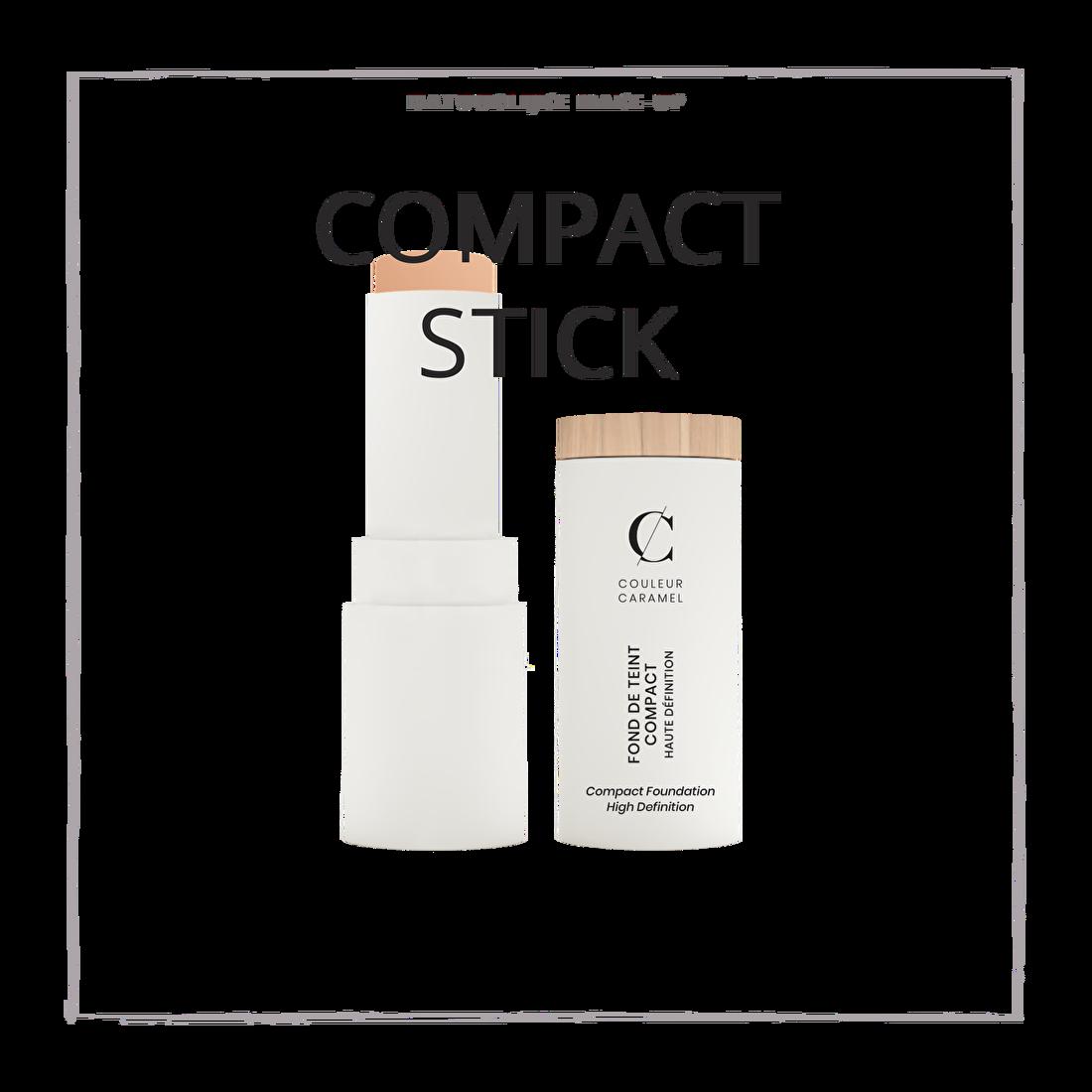 natuurlijke make-up compact stick foundation CouleurCaramelmakeup.nl