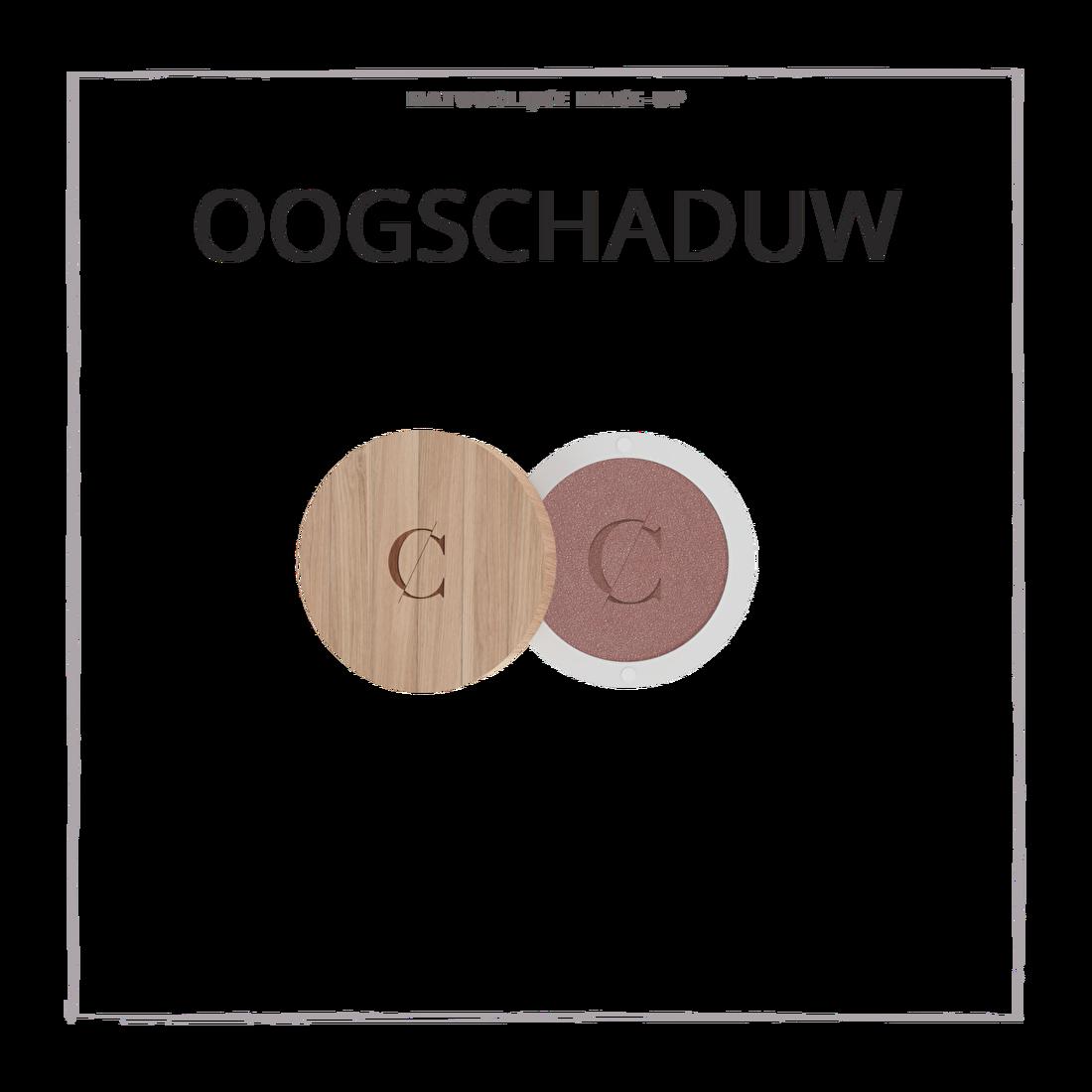 natuurlijke make-up oogschaduw CouleurCaramelmakeup.nl