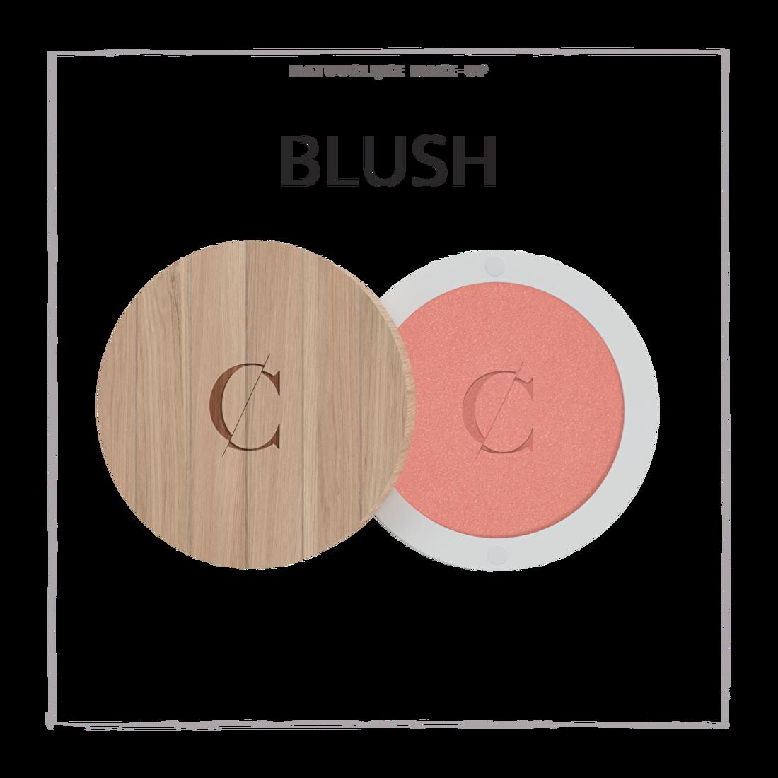 natuurlijke make-up blush CouleurCaramelmakeup.nl