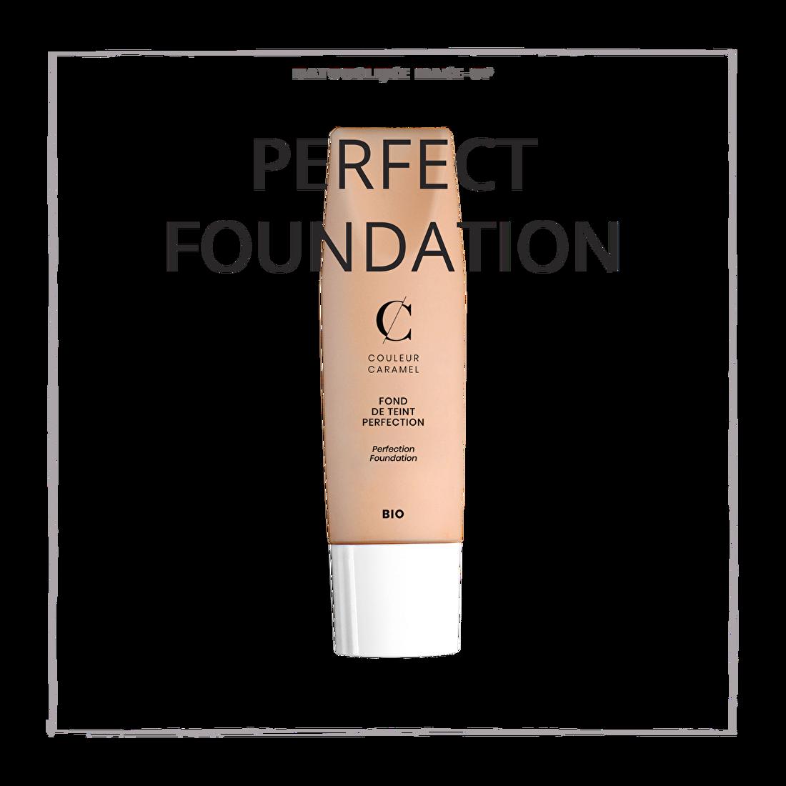 natuurlijke make-up perfect foundation creme CouleurCaramelmakeup.nl