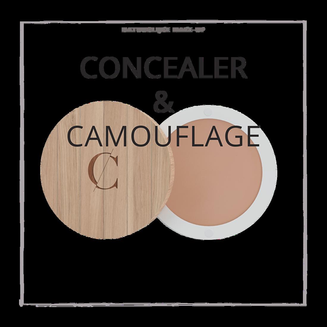 natuurlijke make-up concealer en camouflage CouleurCaramelmakeup.nl