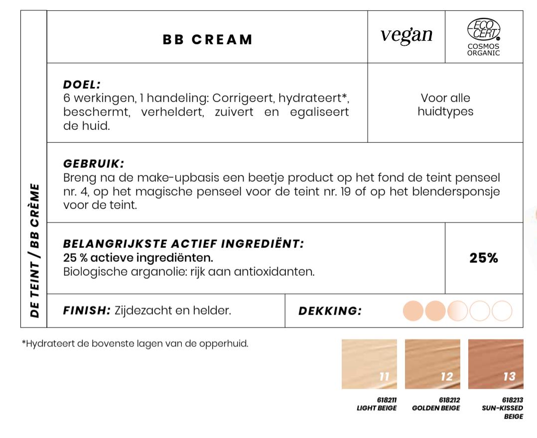 Biologische BB Cream Couleur Caramel