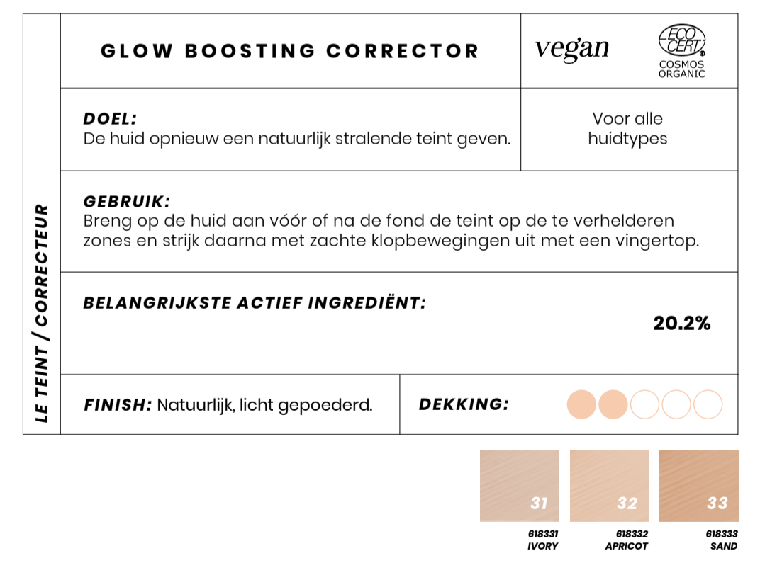Glow Boosting corrector Couleur Caramel