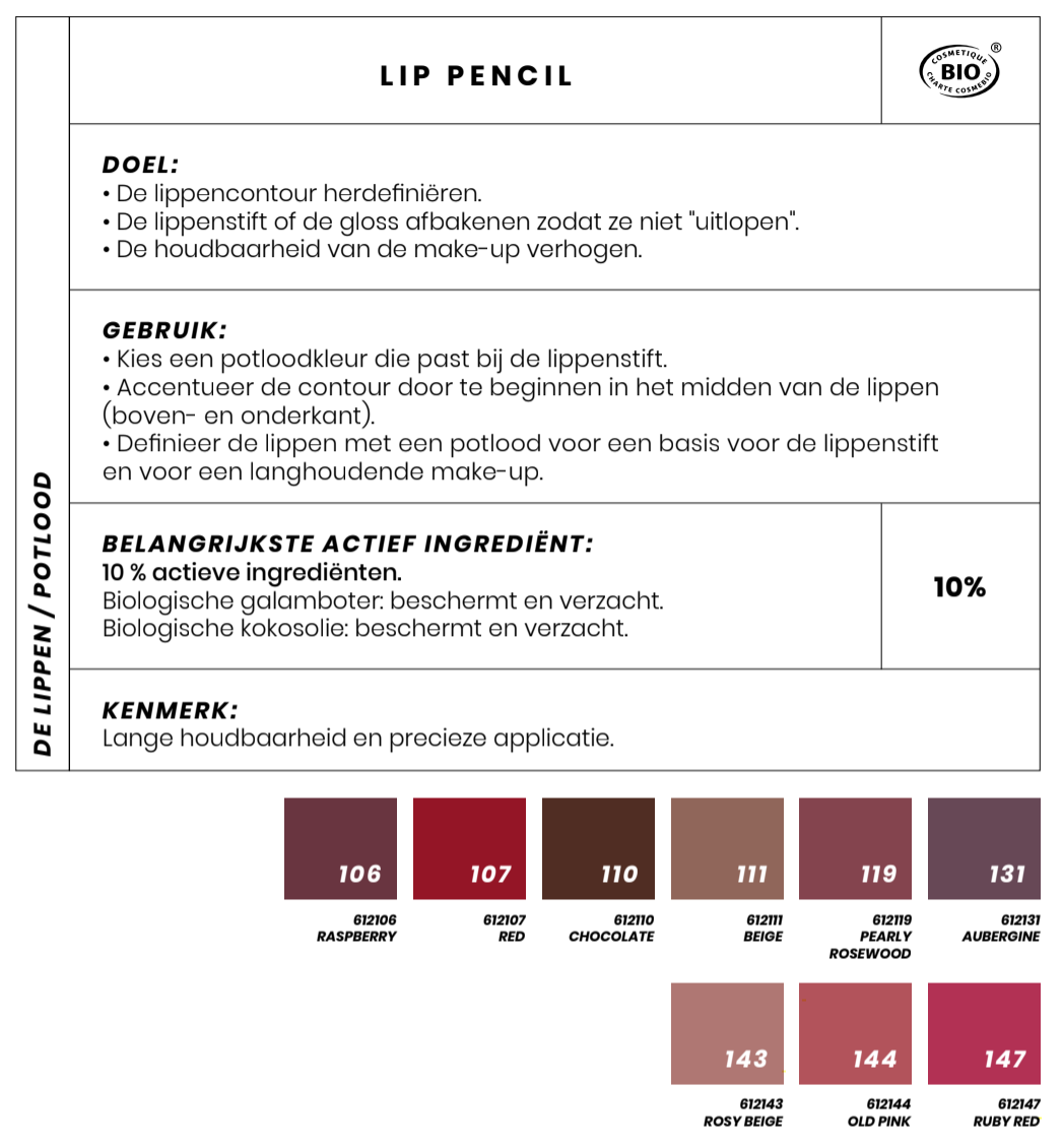Bio Lippotlood Couleur Caramel