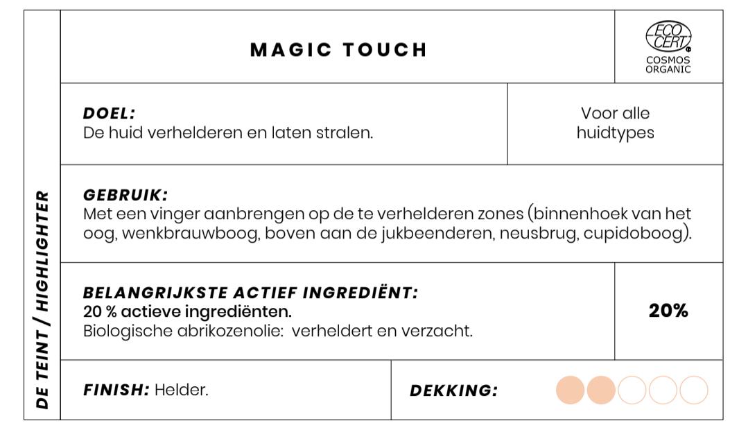 Magic Touch highlighting creme Bio Couleur Caramel