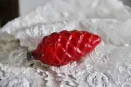 Kerstbal sparappel rood