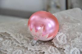 Kerstbal roze