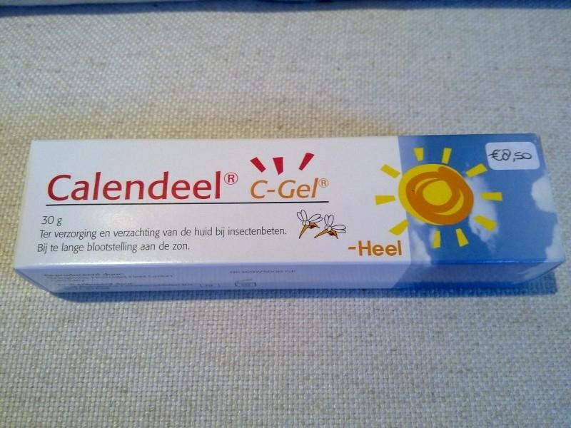 Calendeel zalf, voor insectenbeten, kleine wondjes en zonnebrand