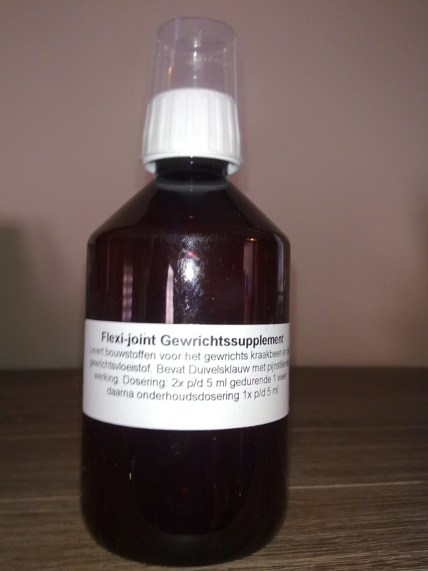 Flexijoint liquid met Duivelsklauw Hond 250ml