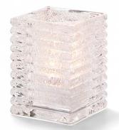 Vierkante lamp glas
