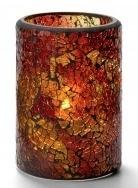 Cilinder lamp gebarsten glas