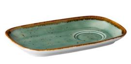Multifunctionele schotel rechthoekig Aqua blauw