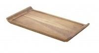 Langwerpige acacia plank smal met handvat