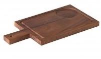 (Antipasti)plank voor soepkom acacia