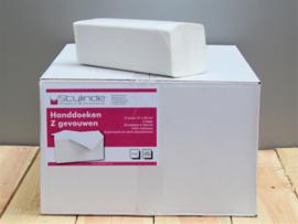Handdoekpapier z-vouw, 2-lgs 24x22cm