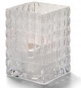 Vierkante glashouder optisch