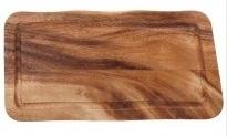Rechthoekige plank met gleuf