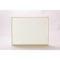 Oatmeal - Rechthoekige borden klein (6 stuks)