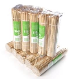 Satéprikker bamboe in krimp