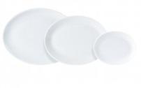 Ovale borden Standard