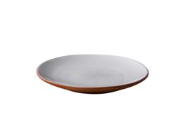 Plat bord wit Stoneheart (12 stuks)