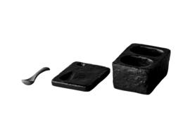 Oyster - Peper en Zout set met lepel (4 stuks)