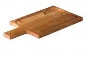 (antipasti)plank voor soepkom eiken