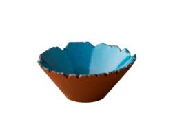 Organische kom blauw Stoneheart (12 stuks)