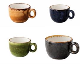 Jersey koffiekop stapelbaar (6 stuks)