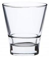 Conische glas met stapelrand