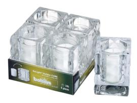 Bolsius Relight houder Cube
