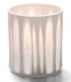 Porseleinen lamp met stippen/strepen