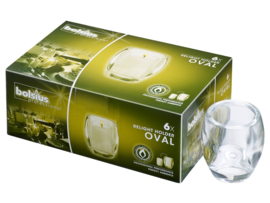 Bolsius Relight houder Oval