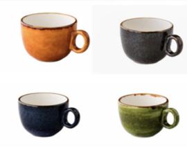 Jersey Latte koffiekop stapelbaar (6 stuks)