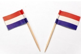 Vlagprikker Nederland (20 doosjes)