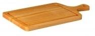 Steakplank met handvat incl. uitsparing kersenhout
