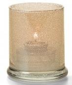Cilinder lamp glas met breed onderstel