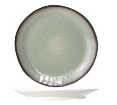 Dessertbord rond groen D22,5CM